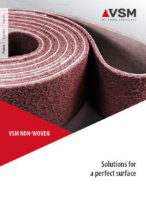 VSM NON-WOVEN - Solutions for a perfect surface
